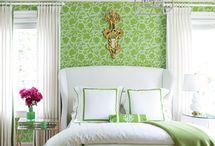 Bedrooms / by Daniela Shuffler
