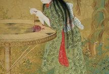 編み物絵画
