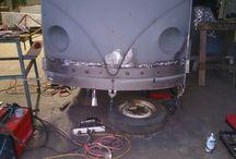 1956 kombi restoration / customer vehicle, full restoration and respray