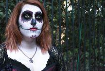Day Of The Dead & Victorian Beauty / Sugar Skull & Victorian Corset