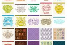 패턴&문양