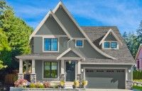 Chesapeake - Top Down Color / Home Exterior Color Schemes with DaVinci Shake Roof