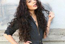 krullend lang haarstyles