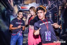 Team Awesoos at Phoenix Comicon 14: Button Mashers