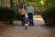 UNC Chapel Hill Fall Family Photography Session