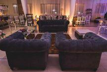 Lounges para casamentos / Lounges e pequenos ambientes acolhedores e bem decorados em casamentos.