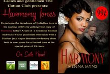Book Covers! / Books by Sienna Mynx are interracial romantic tales.