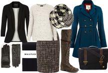 Winter business fashion