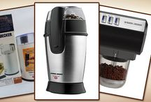 Black and Decker Coffee Grinders / Reviews of the best Black and Decker coffee grinders, as well as getting to know the company who builds them a bit better.