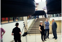 """Cseke Tamás - A haladás illúziója /  A Park Galéria elnevezésű projekt egy rendhagyó együttműködés a Molnár Ani Galéria és a MOM Park között, amelynek kurátora Molnár Annamária. Az """"illúzió"""" – a mozgás, a haladás pozitív jelensége mögött a mozgásképtelenség feszültsége, s egy hektikus állapot kialakulása rejtőzik."""