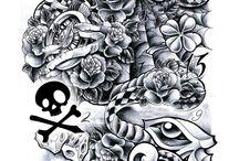 Fechamento Tattoo ideias.
