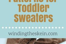 toddler knitting