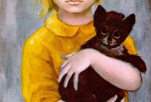 "Margaret Keane--""Big Eyes"" / by Joan Ciccarone"