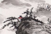 sumi-e et peinture chinoise