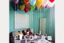 Birthday room ideas