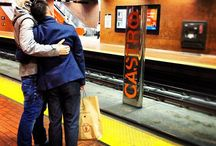 Love in transit / Love on public transportation...it's not all just smelly stuff and hate.