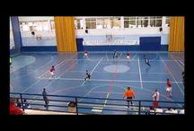 2014-2015 Fase previa de futbol sala categoria cadete / Partidos de la fase previa de la liga cadete de futbol sala del equipo Oroquieta Espinillo durante la temporada 2014 - 2015