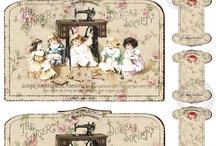 Vintage Lace Cards
