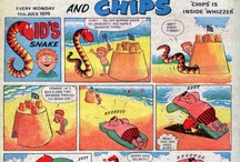 COMICS OF THE 60;S AND 70;S / COMICS FORM BOTH DECADES CHILD OR ADULT