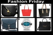 Fashion Friday at OneCentChic 8-8-14 / Designer Handbags and a Marc Jacobs Watch at OneCentChic tonight at 10 PM