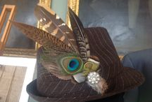 Lilly Dilly's bespoke hat adornments / Couture, bespoke hand crafted hat adornments for special occasions x