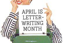 Letter Writing & Pen Pals