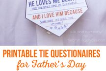 Father's Day Ideas / This board is full of inspiration for Father's Day! Here you'll find tips on how to celebrate the best dad your kids could ever have. What to give your dad or husband, Father's Day crafts for kids to make, gift guides, perfect Father's Day recepies and more.