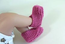 Knit Booties & Slippers