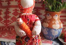 Традиционная кукла. / Русская традиционная тряпичная кукла. Автор Ирина Новикова.