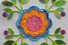 Machine Embroidered Applique