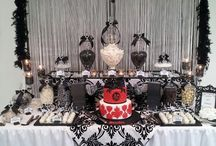 Black & White & Pink Birthday Party Ideas