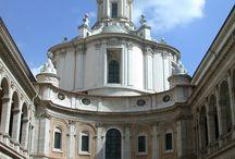 BORROMINI FRANCESCO / Tratta l'opera dell'artista a Roma.