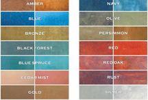 Huis kleur