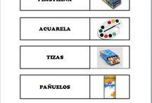 Etiquetas materiales