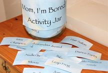 Activity ideas for children.