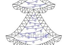 Tombolo Natale - Christmas Bobbin Lace - - / by Franca Fortini