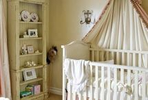 Vintage baby nursery ideas