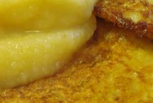 MY MAMA'S POTATOE FRITTERS (PUFFE) Best eaten with canned peaches and eaten as a meal - Delicious!!