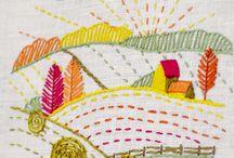 Brodera Landskap / Embroidery Landscape