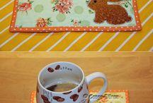 Mug Rugs / A place to put all my mug rug inspirations