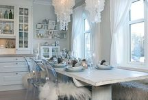 rustic chic dining tables