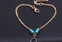 FREE Simple Bohemian Turquoise Bead Anklet - Just Pay Shipping!