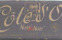 Chocolat Cote d'or Noir / Chocolat côte d'or pour les amateurs de goût fort prononcé. Un carré de chocolat noir par jour est bon pour la santé www.chockies.net