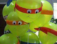 Ninja turtle party