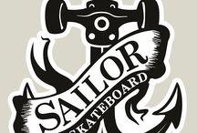 Adesivos - SailorSkateboard ☠️ / Adesivos já utilizados pela marca.