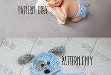 Crochet Baby Photo Props Patterns