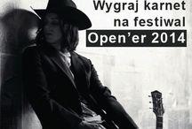 Konkursy / Piny o konkursach z biletami na koncerty do wygrania