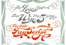 fonts / by Kelly Southern-Crawford