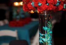 enfeites de mesa para festa de casamento