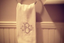 Monogramming Projects / by Shelby Thompson